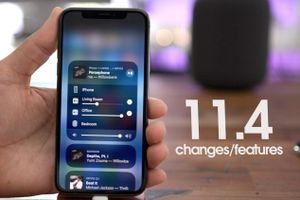 Trải nghiệm những tính năng mới trên iOS 11.4