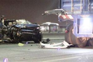 Nữ CA tử vong trong xe Range Rover: Đình chỉ điều tra