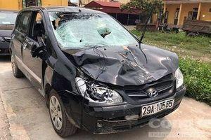 Chủ tịch xã lái xe tông 4 học sinh, tìm người 'thế thân' bất thành