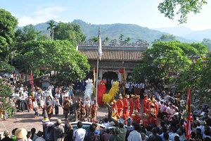 Quảng Ngãi: Lễ hội Điện Trường Bà ở Trà Bồng