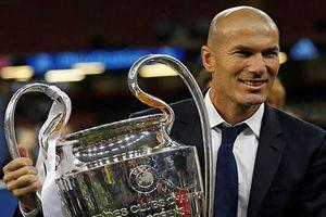 Zinedine Zidane từ chức HLV trưởng Real Madrid