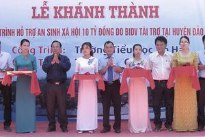 Đưa vào sử dụng cụm công trình An sinh xã hội tại huyện đảo Lý Sơn