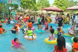 Công viên nước mini - Điểm đến an toàn cho trẻ em trong dịp hè