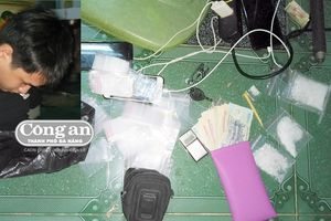 Xóa tụ điểm mua bán ma túy đá tại gia