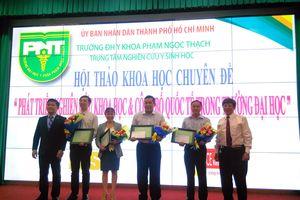 Trường ĐH Y khoa Phạm Ngọc Thạch TPHCM được đầu tư 450 tỉ cho nghiên cứu Y sinh học