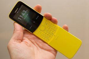 Nokia 'trái chuối' 8110 màu vàng được bán ở Việt Nam