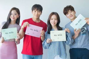 N (VIXX) và Kang Han Na ngưỡng mộ diễn xuất của Han Ji Min - Ji Sung tại buổi đọc kịch bản 'Knowing Wife'
