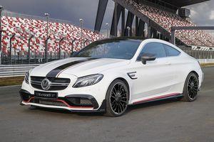 Mercedes-AMG C63 'hóa thân' thành xe đua