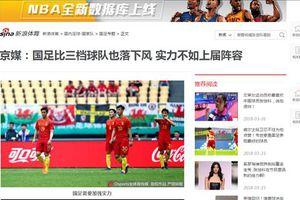 Truyền thông Trung Quốc lại lấy ĐT Việt Nam để chê sự kém cỏi của đội nhà