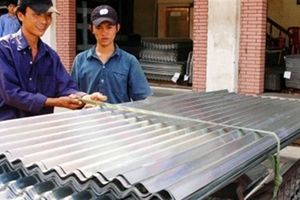 Việt Nam thua cả Lào trong cuộc chiến cấm amiang trắng