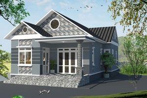 10 mẫu nhà cấp 4 mái thái được xây nhiều nhất