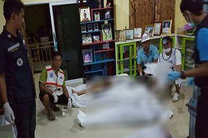 Kinh hoàng thảm sát cả gia đình bằng súng ở Thái Lan