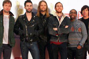 Maroon 5 đang thành tiêu điểm âm nhạc thế giới