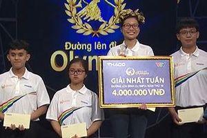 Nữ sinh 'trường Ams' giành vòng nguyệt quế Đường lên đỉnh Olympia
