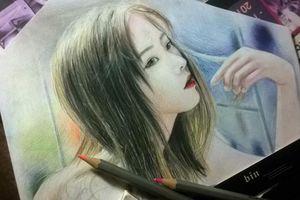 Những bức vẽ tranh chì giống thật đến ngỡ ngàng của 9X Quảng Nam