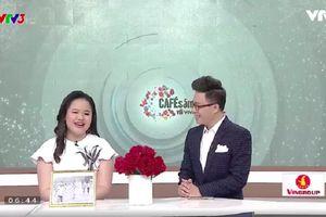 Cô gái khiếm thị với ước mơ trở thành MC 'Cà phê sáng với VTV3' đã trở thành hiện thực khiến nhiều người ngưỡng mộ
