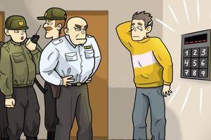 Câu đố: Giúp anh chàng mất trí nhớ giải mật khẩu để vào nhà
