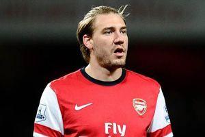 Đan Mạch phải để ngôi sao cũ của Arsenal ở nhà