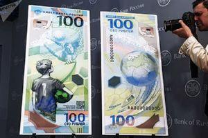 World Cup 2018: Nga phát hành 20 triệu tờ tiền 100 RUB đặc biệt