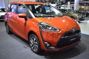 Toyota Sienta phiên bản nâng cấp sẽ ra mắt vào tháng 7/2018