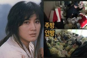 Sao nữ Hàn Quốc bị tâm thần, sống với 4 tấn rác trong nhà