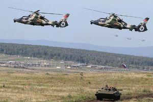 Mục kích 3000 quân Nga-Trung kéo nhau đi tập trận chung