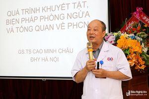 Tập huấn phương pháp phục hồi chức năng cho người khuyết tật dựa vào cộng đồng