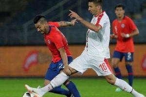 Giao hữu tiền World Cup 2018: Serbia 0-1 Chile - Ngựa ô vấp ngã
