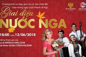 Hấp dẫn chương trình giao lưu âm nhạc chào mừng Quốc Khánh Nga