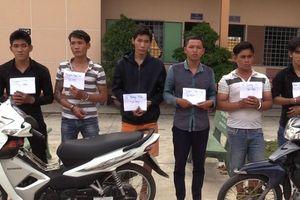 Nhóm thanh niên tổ chức hàng loạt vụ cướp giật sa lưới
