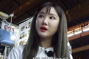 Fan bức xúc vì EXID bị 'chém' 430.000 đồng khi ăn vặt ở chợ Bến Thành