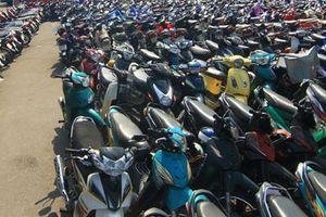 Công an phường Xuân Đỉnh tìm chủ sở hữu xe máy