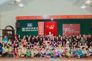 Ruby's World đem 'Tết cho em - Phép màu cuộc sống' về với Làng trẻ em SOS Việt Trì