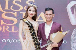 Chi Nguyễn đại diện Việt Nam chinh chiến tại đấu trường sắc đẹp Miss Asia World 2018