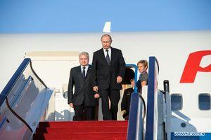 Tổng thống Nga Putin đến Bắc Kinh, bắt đầu chuyến thăm cấp nhà nước tới Trung Quốc