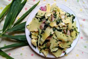 Học cách làm món măng xào lá lốt đưa cơm ngày mưa