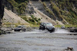 Chinh phục miền tàn tro núi lửa Pinatubo cùng Nissan Terra