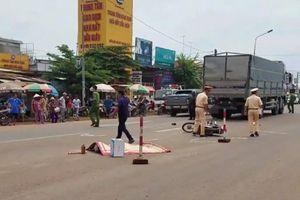 Người đàn ông bị xe tải cán chết tại chỗ