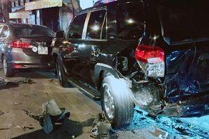 Nam thanh niên lái siêu xe BMW gây tai nạn liên hoàn