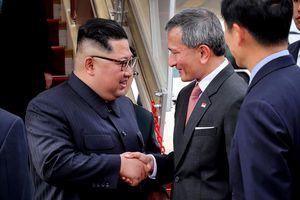 Ông Kim Jong Un đã tới Singapore