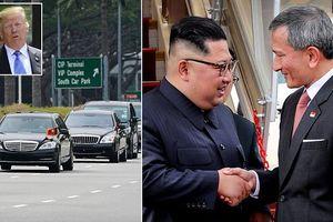 Chùm ảnh cận cảnh ông Kim Jong Un và đoàn vệ sĩ hùng hậu trên đất Singapore