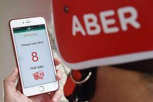 Ứng dụng gọi xe Aber tuyên bố không tăng giá cước vào giờ cao điểm