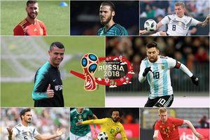 Ngất ngây với đội hình kết tinh mạnh dữ dội của World Cup 2018