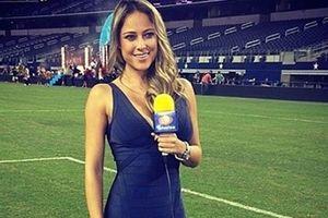 Những nữ phóng viên xinh như hoa hậu ở World Cup 2018