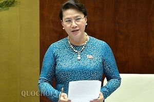 Quốc hội kêu gọi nhân dân cả nước bình tĩnh, tin tưởng, không để lòng yêu nước bị lợi dụng