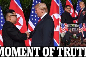 Ấn tượng khó tin cuộc gặp lịch sử Tổng thống Trump và Chủ tịch Kim
