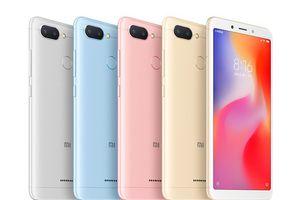Xiaomi Redmi 6 và Redmi 6A ra mắt: Màu sắc thời thượng, giá từ 2,3 triệu đồng