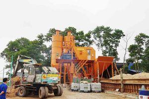 Xã Phú Minh (Sóc Sơn – Tp. Hà Nội): Trạm trộn bê tông không phép ngang nhiên hoạt động, chính quyền có 'bảo kê'?