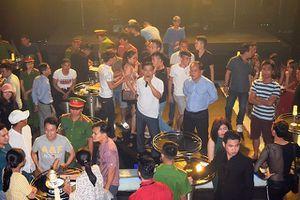 Đột kích động ăn chơi nức tiếng ở Huế: 50 nhân viên và khách hàng dương tính ma túy