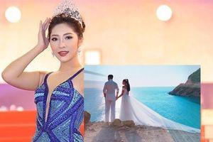 'Bật mí' về chồng sắp cưới của Hoa hậu Đại dương Đặng Thu Thảo